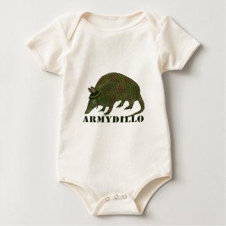Army Armadillo Baby Bodysuit