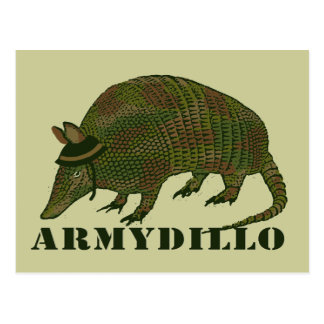 Army Armadillo Item Postcard