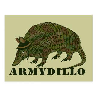 Army Armadillo Item Postcard
