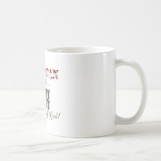 Army Aunt by Grace of God Mugs