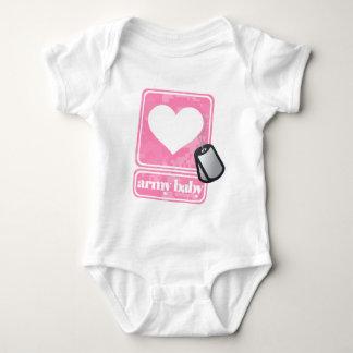 Army Baby (girl) Baby Bodysuit