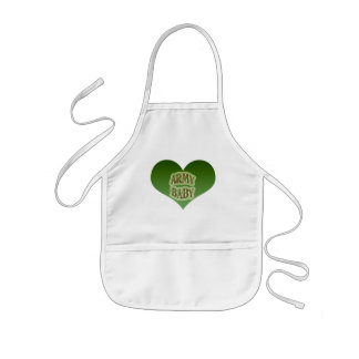 Army Baby Kids' Apron