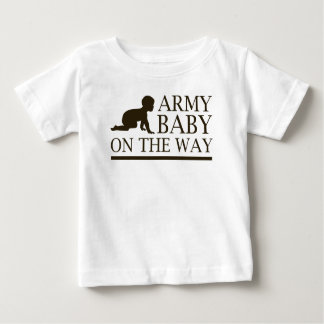 ARMY BABY ON THE WAY TSHIRTS