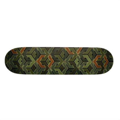 Army Barracks Custom Skateboard
