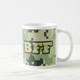Army BFF Classic White Coffee Mug