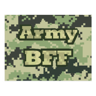 Army BFF Postcard