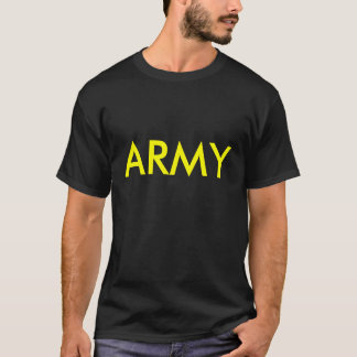 Army Black and Gold PT shirt