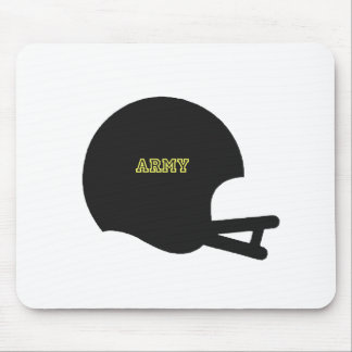 Army Black Knights Vintage Football Helmet Logo Mouse Pad
