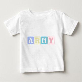 Army Blocks Baby T-Shirt