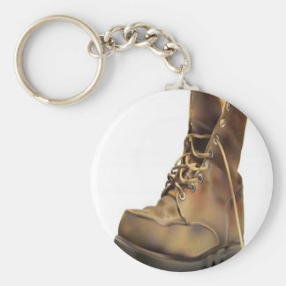 Army boot design keychain