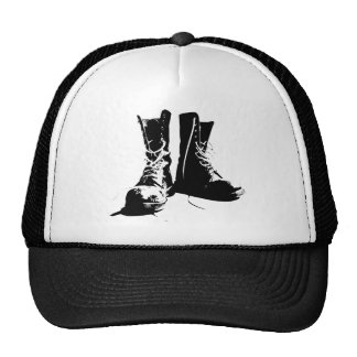 Army Boots Trucker Hats