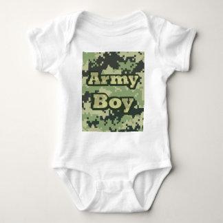Army Boy Baby Bodysuit