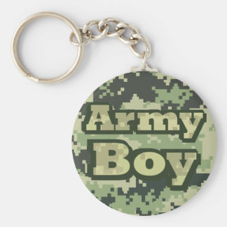 Army Boy Keychain
