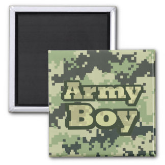 Army Boy Magnet