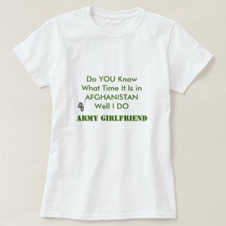 Army Boyfriend in AFGHANISTAN Tee Shirt