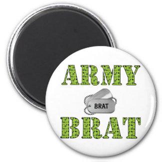 Army Brat 2 Inch Round Magnet