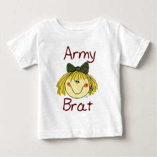 Army Brat - Girl Baby T-Shirt