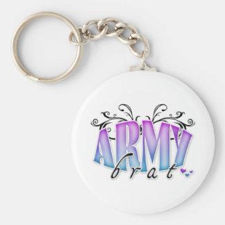 Army Brat Keychain