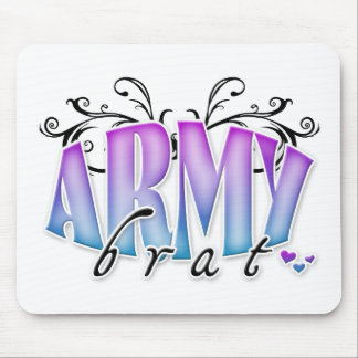 Army Brat Mouse Pad