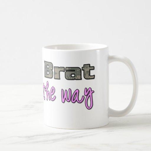 Army Brat on the way pink Coffee Mug