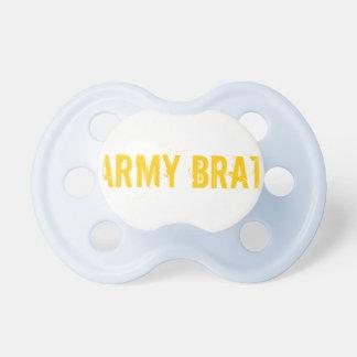 Army Brat Pacifier BooginHead Pacifier