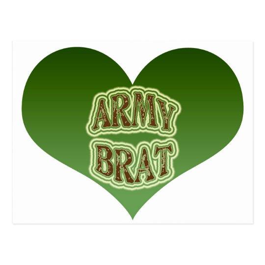 Army Brat Postcard