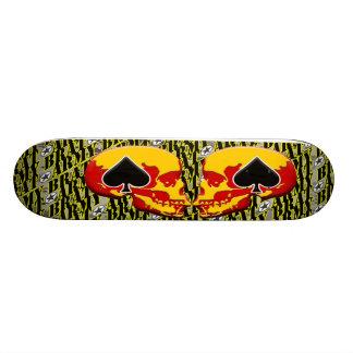 Army Brat Skull and Ace Design Skate Board