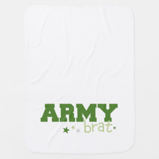 Army Brat Stroller Blanket