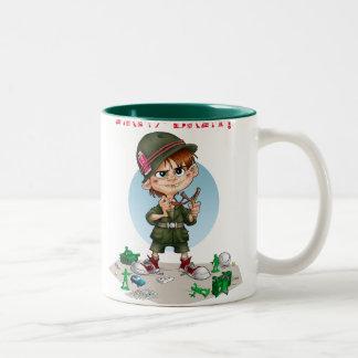 army brat Two-Tone coffee mug