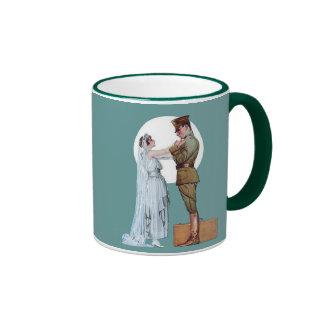 Army Bride Ringer Coffee Mug