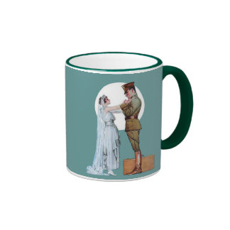 Army Bride Ringer Mug
