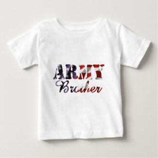 Army Brother American Flag Baby T-Shirt