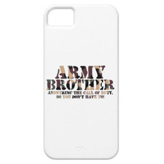 Army Brother Answering Call iPhone SE/5/5s Case