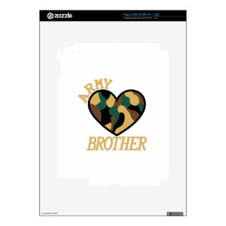 Army Brother Decals For iPad 2
