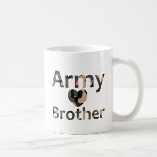Army Brother Heart Camo Coffee Mug