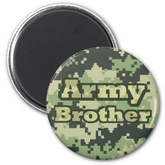 Army Brother 2 Inch Round Magnet