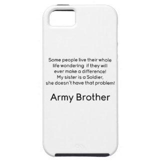 Army Brother Sister No Problem iPhone SE/5/5s Case
