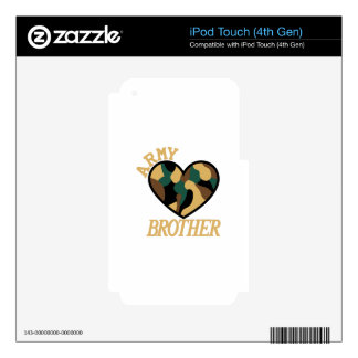 Army Brother Skins For iPod Touch 4G