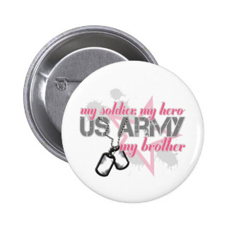 Army Brother Star Button