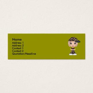Army Buddy Mini Business Card