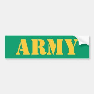 ARMY Bumpersticker Bumper Sticker