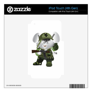 Army Bunny iPod Touch 4G Skins