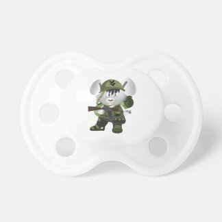 Army Bunny Pacifier