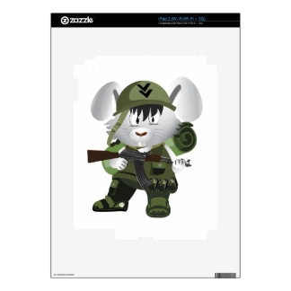 Army Bunny iPad 2 Skin