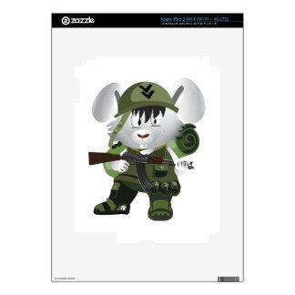 Army Bunny iPad 3 Skins