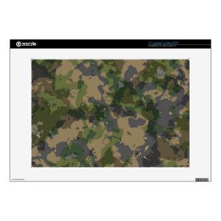 """Army Camo 15"""" Laptop Skin"""