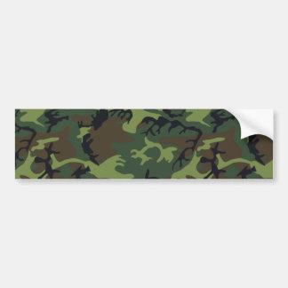 Army Camo Bumper Sticker