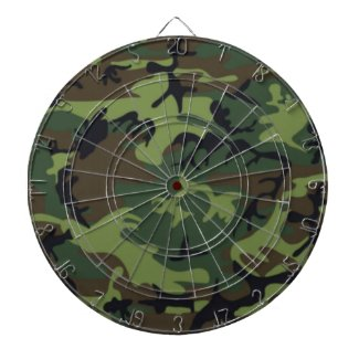 Army Camo Dart Board