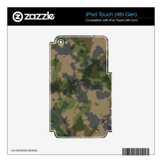 Army Camo Decal For iPod Touch 4G