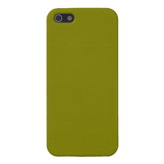 Army Camo Green Olive Color Greenish Booger Dark iPhone 5 Case
